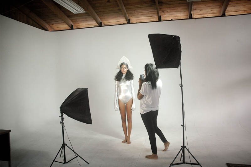 softboxes continuous light